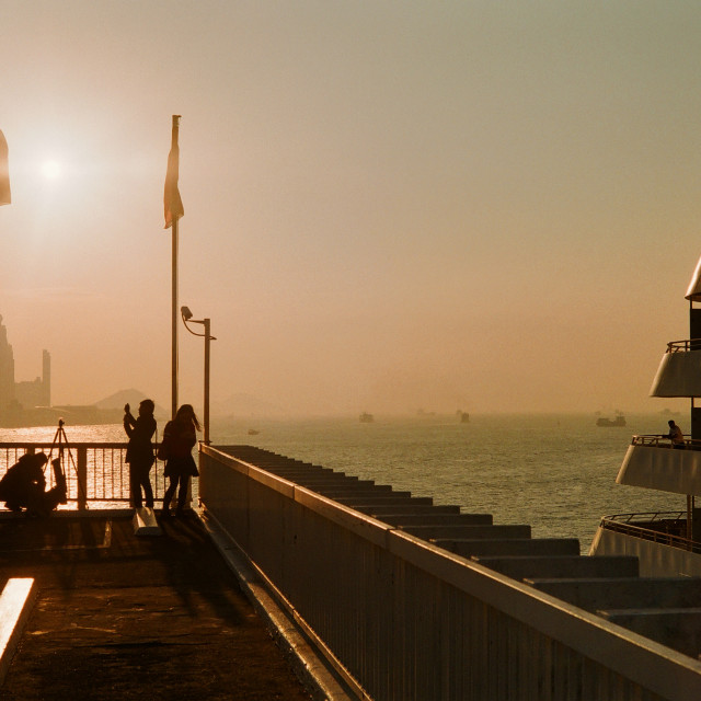 """Ocean Terminal, Hong Kong"" stock image"