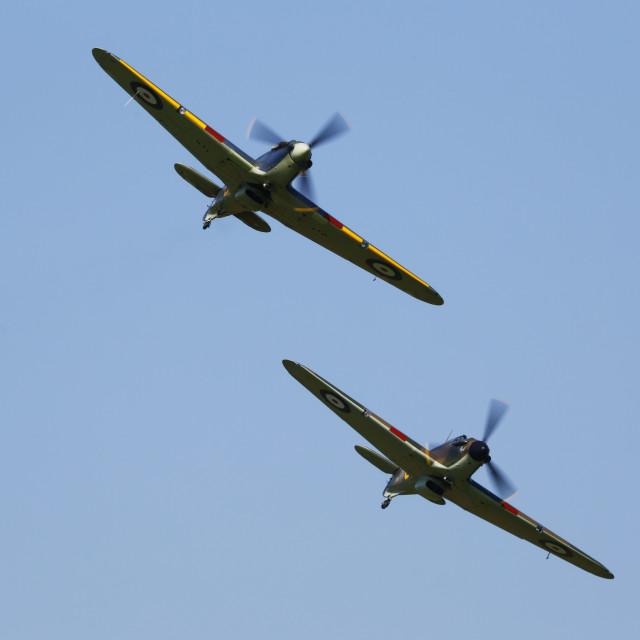"""Hawker Hurricanes"" stock image"