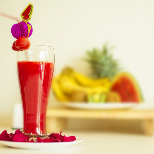 """watermelon juice"" stock image"