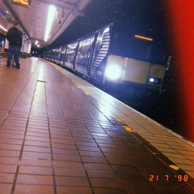 """Underground Train"" stock image"