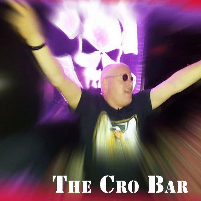 """self at the cro-bar - rock music club"" stock image"