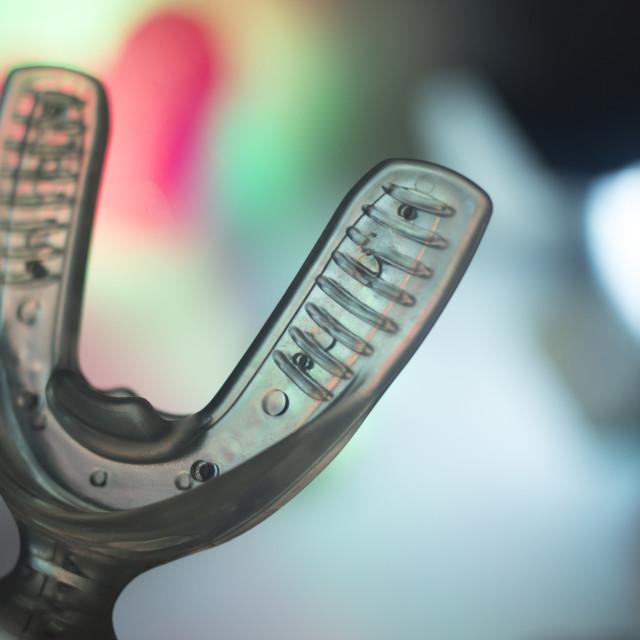 """Bracket dental aligner accelerator"" stock image"