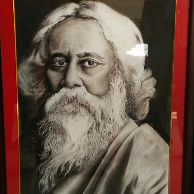 """""""Rabindra Nath Tagore"""" stock image"""