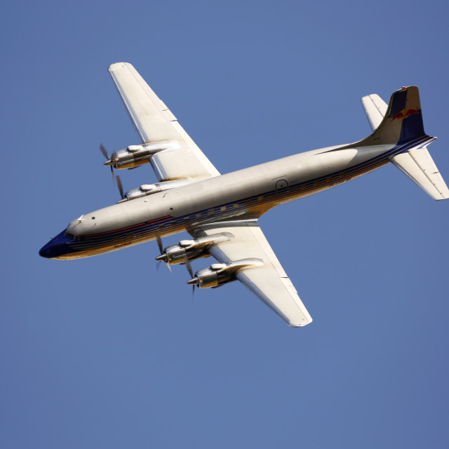 """Douglas DC6b"" stock image"