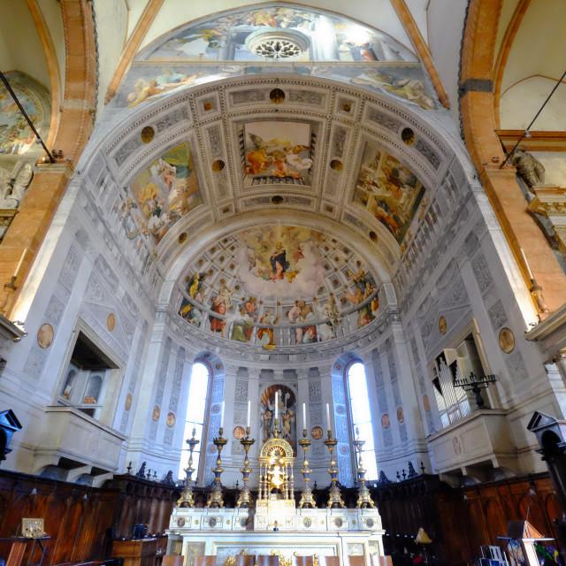 """Verona Cathedral, Verona, Italy, Europe"" stock image"