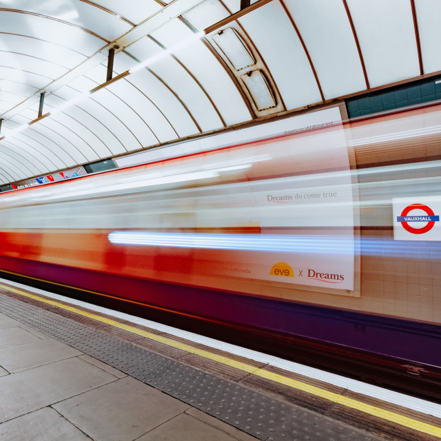 """Night Tube"" stock image"