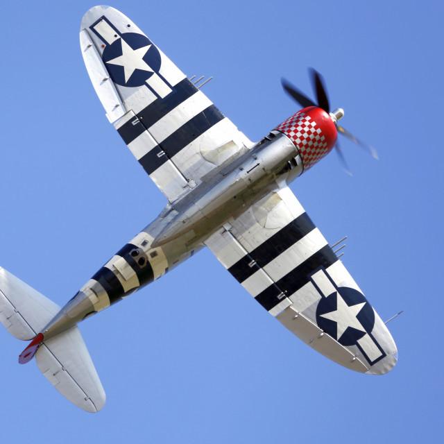 """Republic P47d Thunderbolt"" stock image"