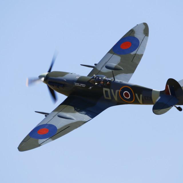 """Supermarine Spitfire EE602"" stock image"