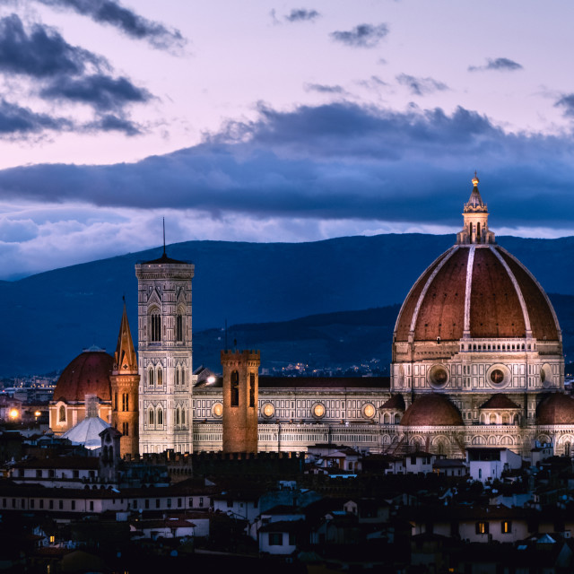 """""""Florence Cathedral (I)"""" stock image"""