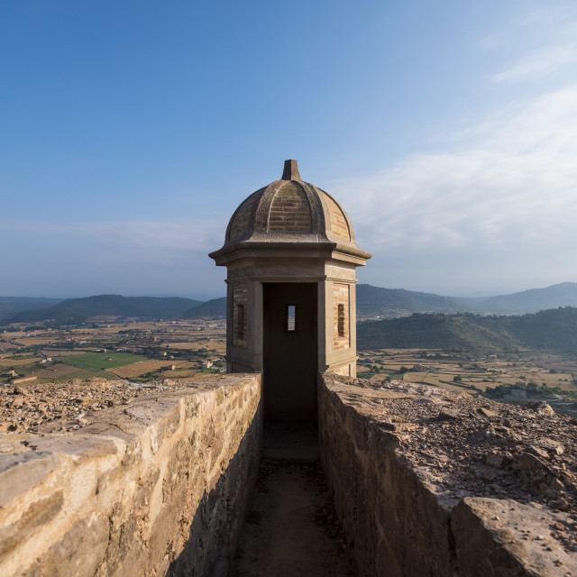 """Landscape in Gerona Spain"" stock image"