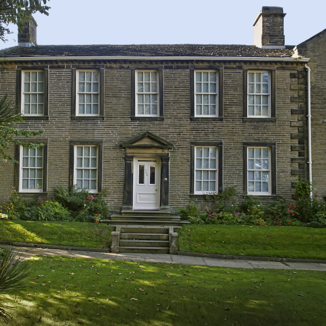 """Bronte parsonage museum,Haworth.Yorkshire"" stock image"