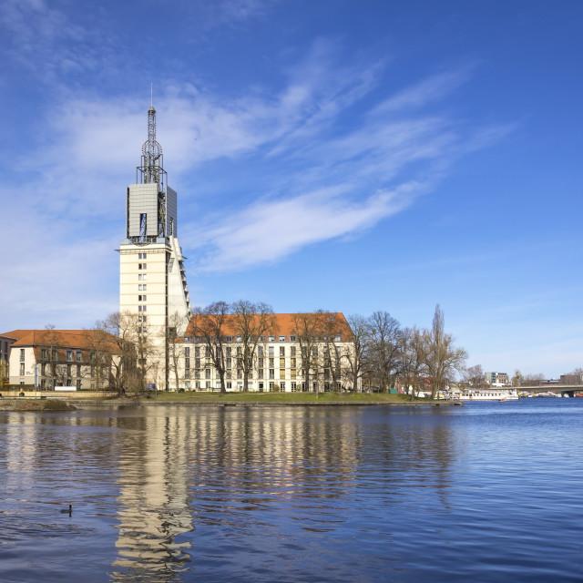 """Look at a retirement home, Potsdam, Brandenburg, Germany"" stock image"