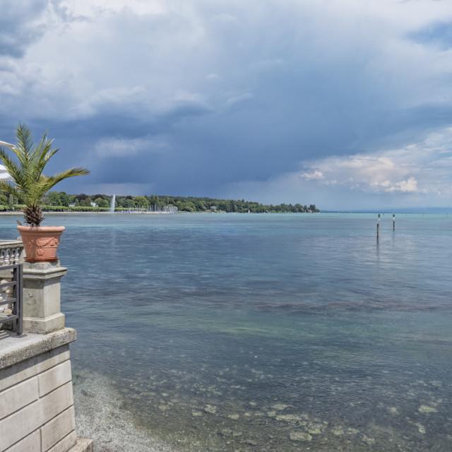 """Boden Lake near Constance"" stock image"