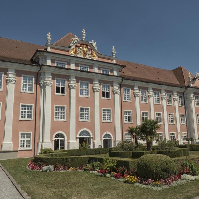 """""""New castle Meersburg"""" stock image"""