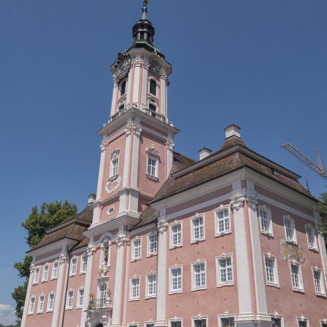 """""""Birnau abbey church"""" stock image"""