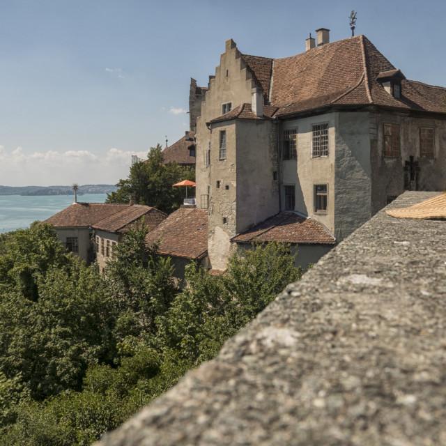 """""""Meersburg castle"""" stock image"""