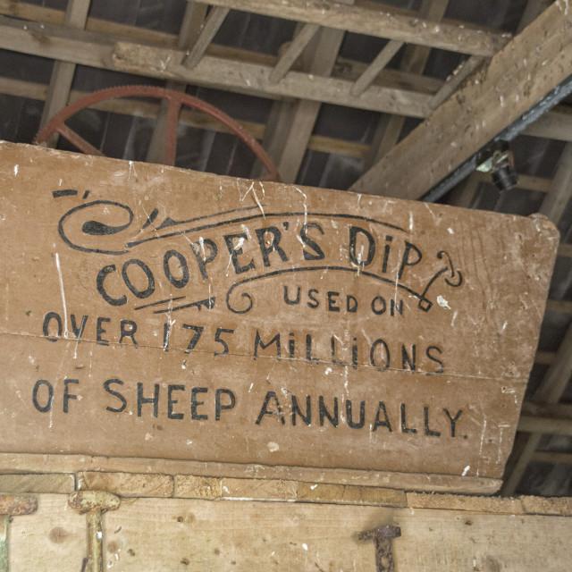 """Cooper's dip"" stock image"