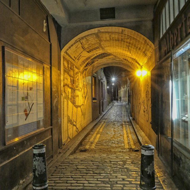 """""""Alley in London"""" stock image"""