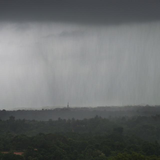 """Monsoon Rain"" stock image"