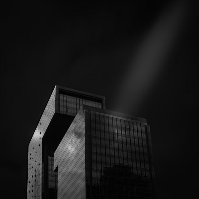 """futuristic building - G Tower - Bangkok"" stock image"