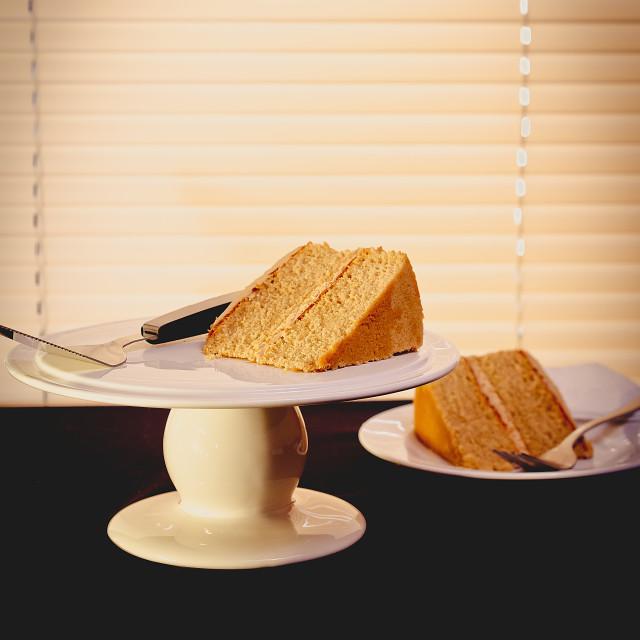 """Coffee Cake"" stock image"