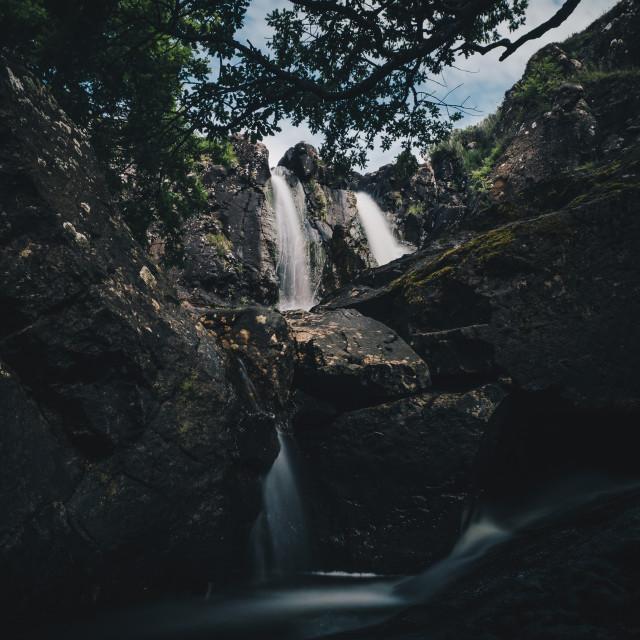"""""""Isle of Mull waterfalls"""" stock image"""