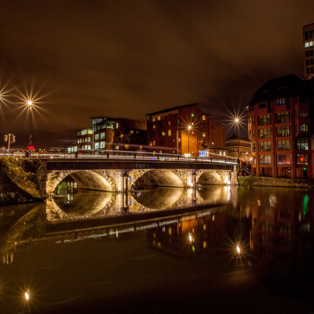 """Bristol Bridge"" stock image"