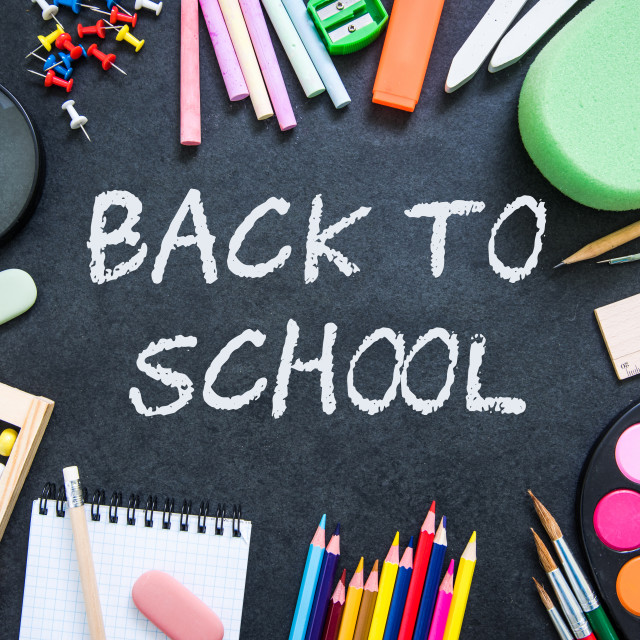 """back to school background"" stock image"