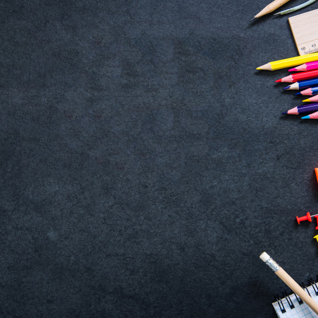 """""""back to school concept"""" stock image"""