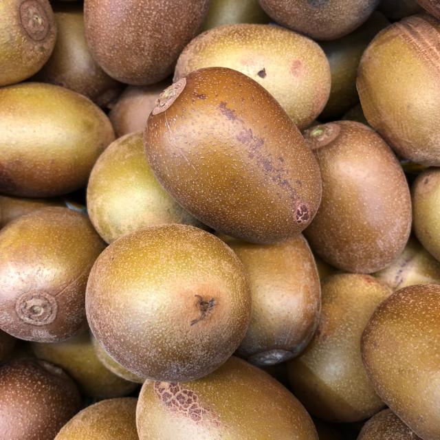 """""""Golden Kiwifruit"""" stock image"""