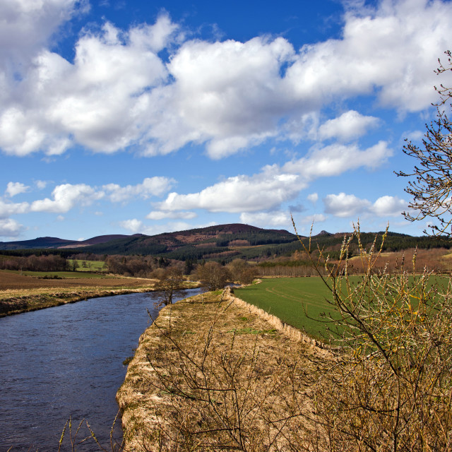 """""""River Don Monymusk"""" stock image"""