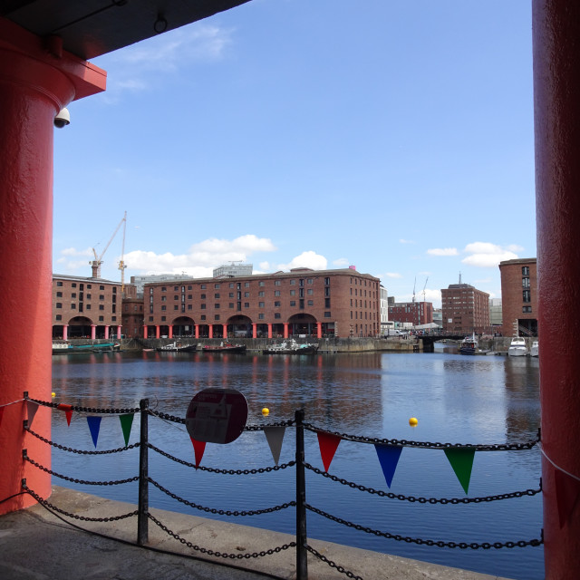 """Albert Dock"" stock image"