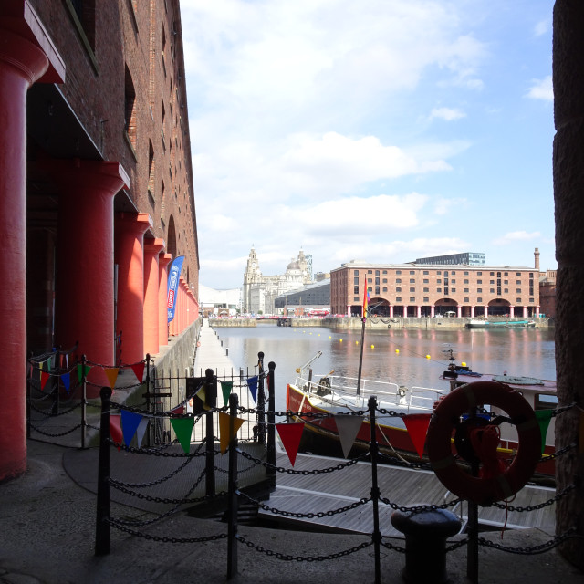 """Albert Dock"" stock image"