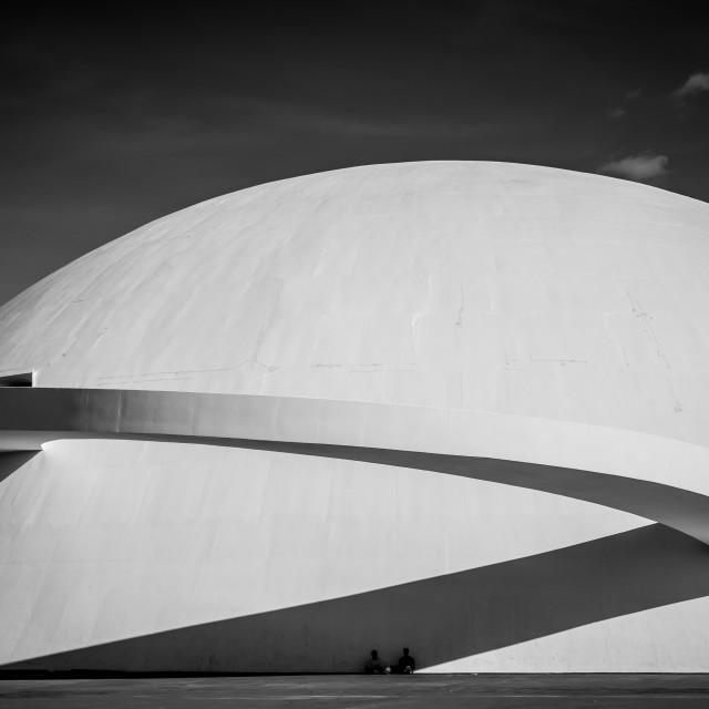 """Brasilia National Musuem"" stock image"