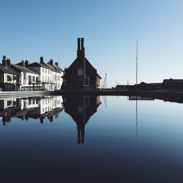 """Moot Hall, Aldeburgh"" stock image"
