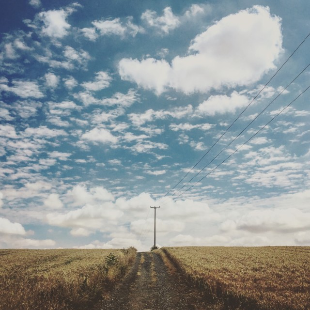 """Big sky"" stock image"
