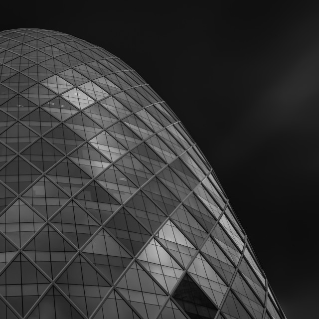 """Futuristic building - Pearl tower - Bangkok"" stock image"