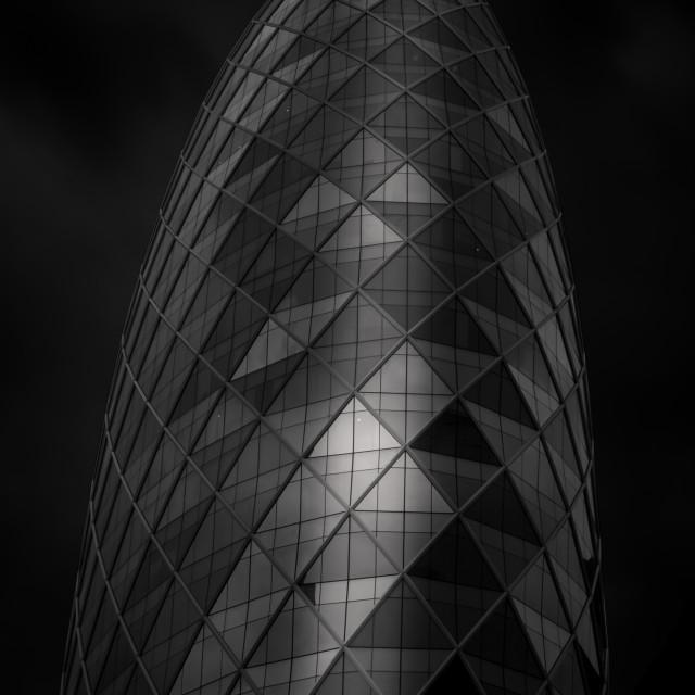 """Futuristic building - Monolith - Bangkok"" stock image"