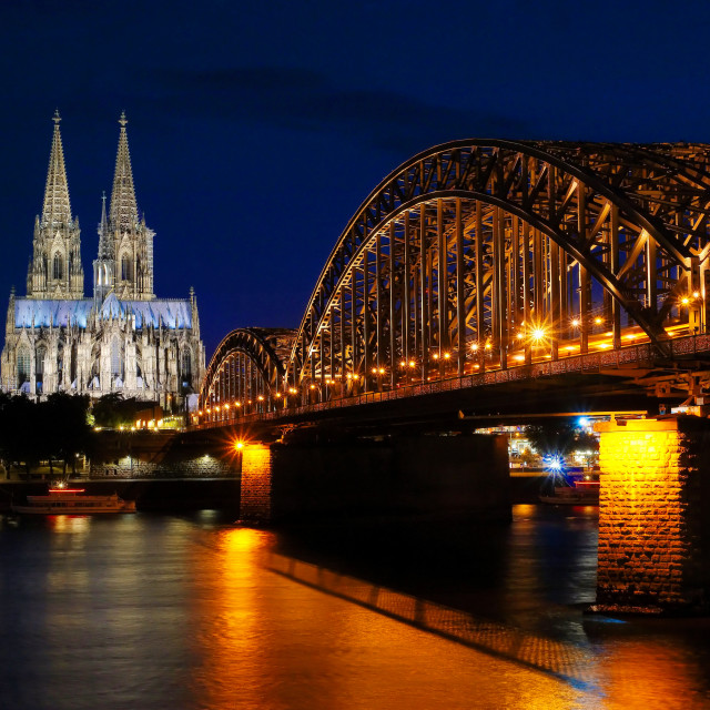 """Cologne Cathedral"" stock image"