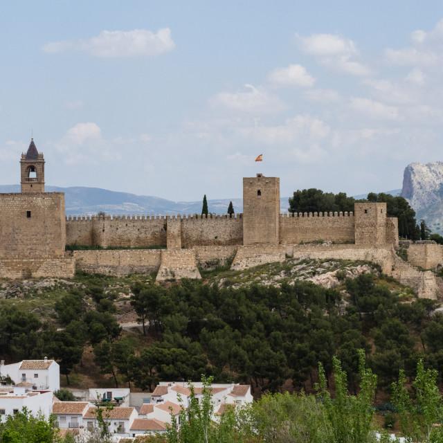 """""""Alcazaba of Antequera"""" stock image"""