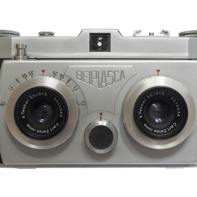"""Belplasca Stereo Camera"" stock image"
