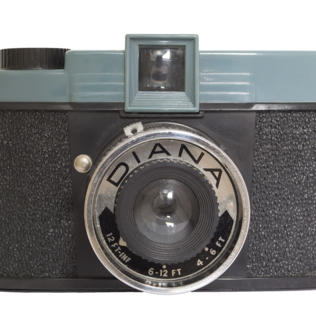 """Diana Camera"" stock image"