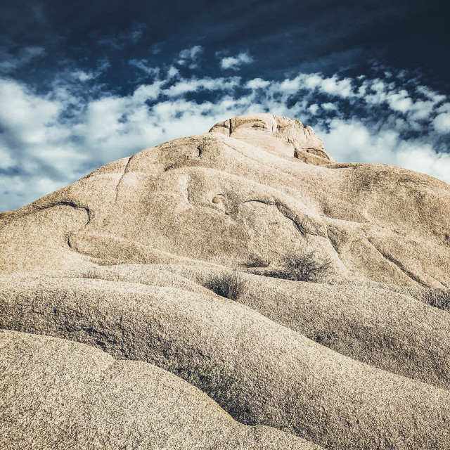 """Joshua Tree state park rock formations"" stock image"