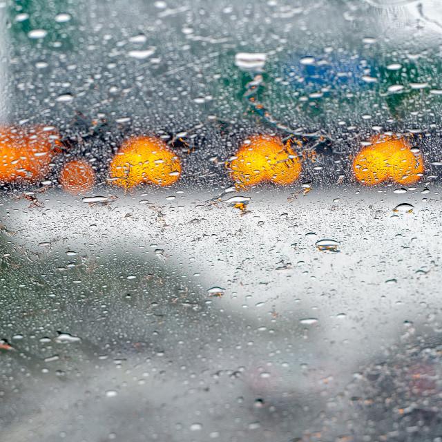 """Rain."" stock image"