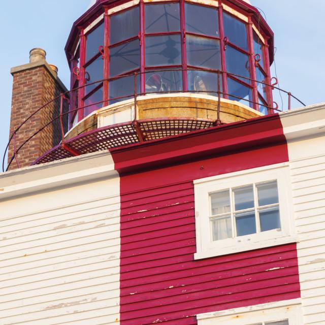 """Cape Bonavista Lighthouse, Newfoundland"" stock image"