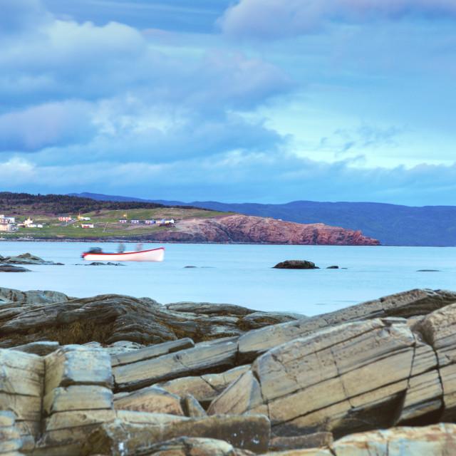 """Gros Morne National Park in Newfoundland"" stock image"