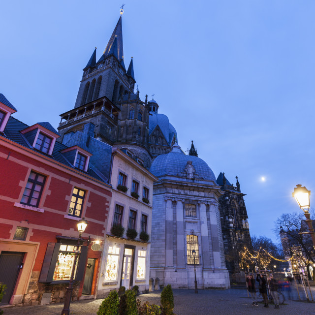 """""""Aachen Cathedral in Aachen"""" stock image"""