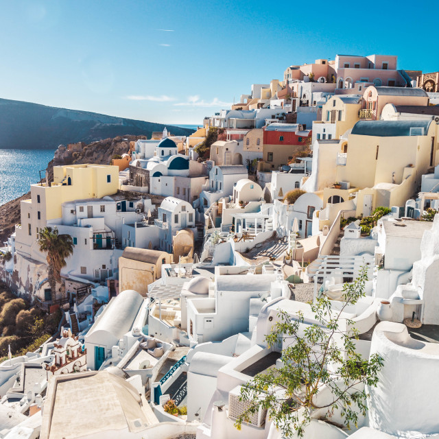 """Oia,Santorini"" stock image"