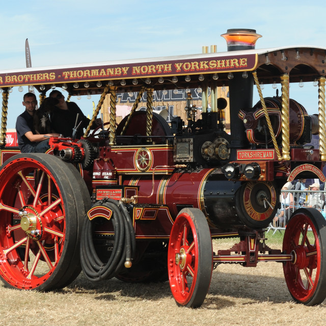 """Burrell Showman's Engine ""Yorkshireman"""" stock image"