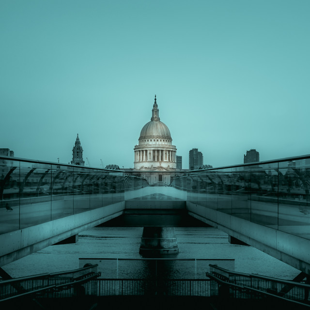 """""""St Paul's Cathedral (V)"""" stock image"""
